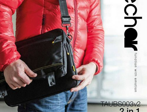 Get two awesome bags for laptops for the price of one – this smart and functional bag also turns into a super slick laptop sleeve